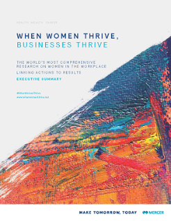 When women Thrive Report Image
