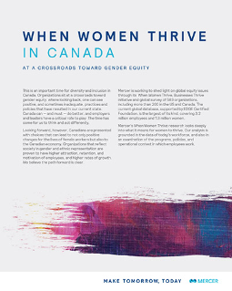 When Women Thrive Canada Summary