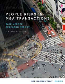 M&A People Risk Research Report 2016