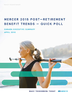 Retirement Benefit Trends Executive Summary