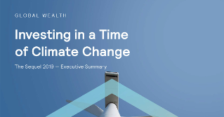 INVESTING IN A TIME OF CLIMATE