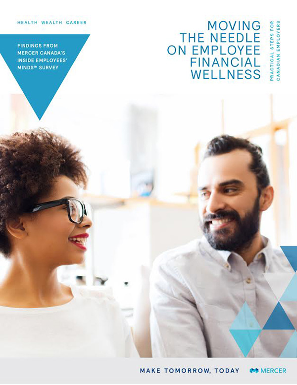Moving the Needle on Employee Financial Wellness: Report Cover